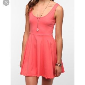 UO l Sparkle & Fade Knit Skater Dress